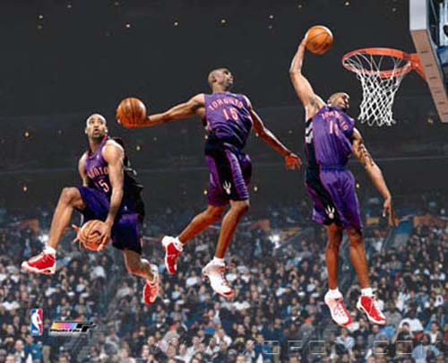 Vince Carter SLAM DUNK content of 2000