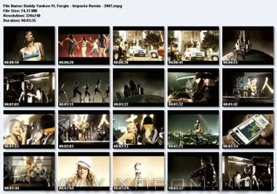 Daddy Yankee & Fergie - Impacto Remix - 2007