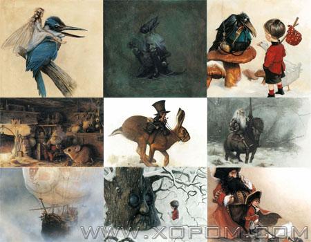 Jean Baptiste Monge-ийн бүтээлүүд [40 зураг]