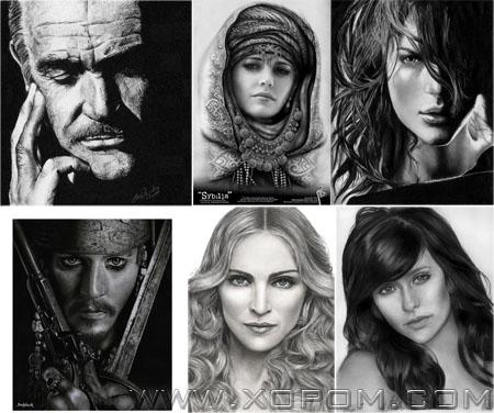 Pencil Art Collection [харандаагаар зурсан зураг 27 фото]