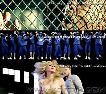 Madonna,Justin Timberlake-4 Minutes,Faf Larage-Pas Le Temps,Missy Elliott-Lose Control