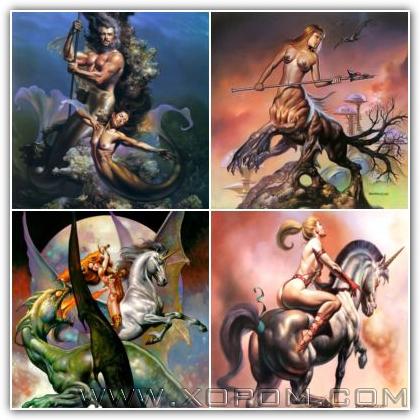 Arts of Boris Vallejo