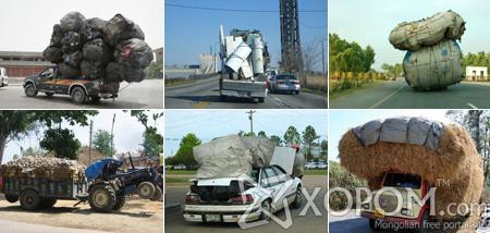 Даац хэтэрсэн тээврийн хэрэгсэл [30 фото]