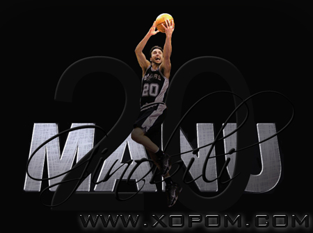 Manu Ginobili Top 10 [2007-2008 NBA Season] Видео