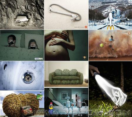 Рекламны өвөрмөц зургууд [89 фото]