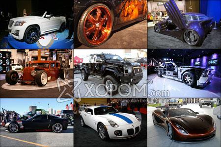Лас-Вегас хотын SEMA-2008 авто шоу [51 фото]