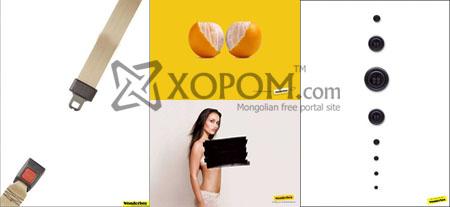 Wonderbra дотуур хувцас үйлдвэрлэгч компанийн рекламны зургууд [52 фото + 5 бичлэг]