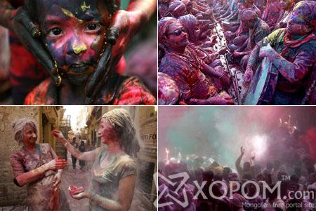 Энэтхэгийн уламжлалт будгийн баяр буюу хаврын баяр [27 фото]