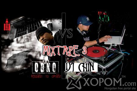 DJ Chin - Mixtape 3 (DJ Chin vs Aka Odko) [2009]