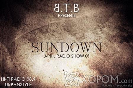 Dj BTB - Sundown (April Radio Show 01)