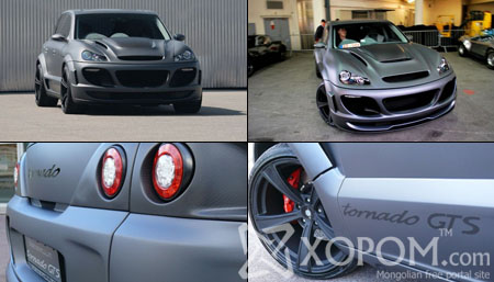 500.000 долларын үнэтэй Porsche Cayenne Gemballa 750 GTS Tornado машин