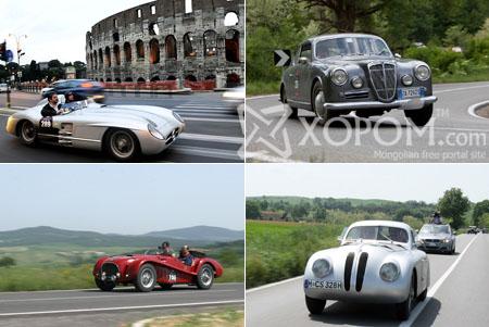 Mille Miglia 2009 уралдаан энэ сарын 13-нд болж өнгөрчээ [45 фото]