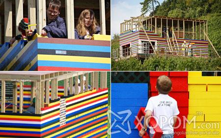 Их Британид хоёр давхар Lego-н байшин баригджээ [34 фото]