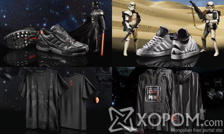 Adidas брэндийн Star Wars коллекц ирэх хавар худалдаанд гарна [23 фото]