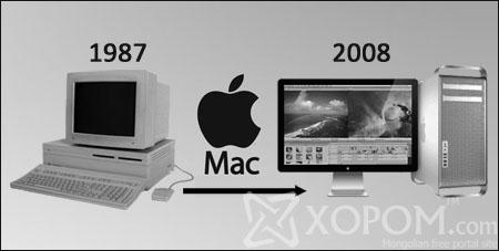 Apple персонал компьютерийн хувьсал 1987-2008 он [11 фото]