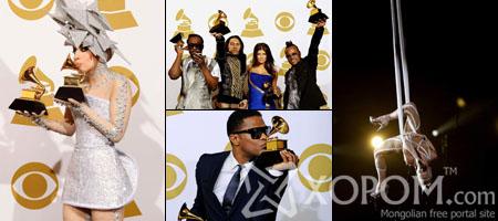 Алдарт Грэммийн шагнал гардуулах 2010 оны наадмын гэрэл зургууд