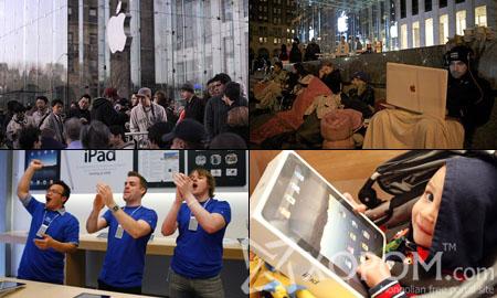 АНУ-д Apple iPad худалдан авагчдынхаа гарт хүрч эхэллээ