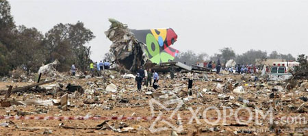 Ливийн нийслэл Tripoli хотод энэ лхагва гаригт зорчигч тээврийн онгоц осолджээ