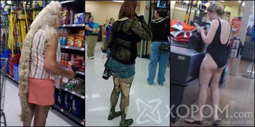 Супермаркетууд дахь сонирхолтой үйлчлүүлэгчид [83 фото]