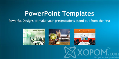 Make Template Powerpoint