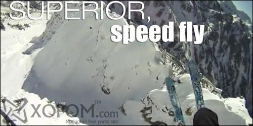 Өвөл цагийн гайхамшгийг мэдрүүлсэн спортын нэгэн төрөл Speed Fly