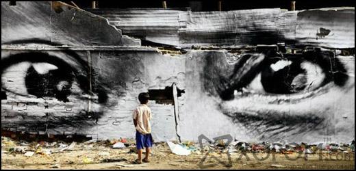 Францын гудамжны уран бүтээлч JR-ын аварга бүтээлүүд [24 фото]