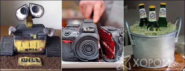Амтат бялуунуудын гайхалтай загварууд [20 зураг]