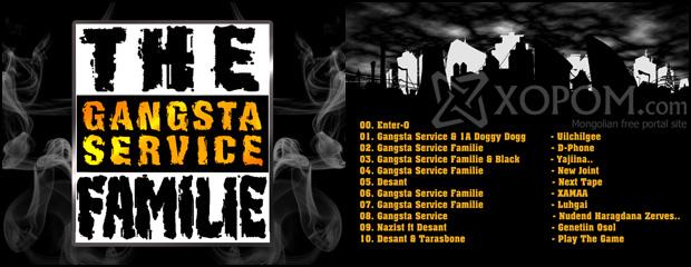 Gangsta Service - Hustla Mixtape [2011]