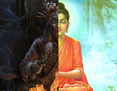 Бөө мөргөл vs Буддизм